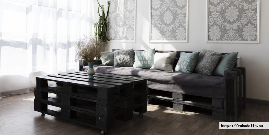 Pallet Sofa Diy And Ideas